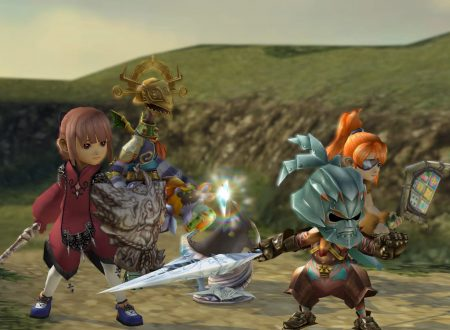 Final Fantasy Crystal Chronicles Remastered: il titolo aggiornato alla versione 1.0.2 sui Nintendo Switch europei