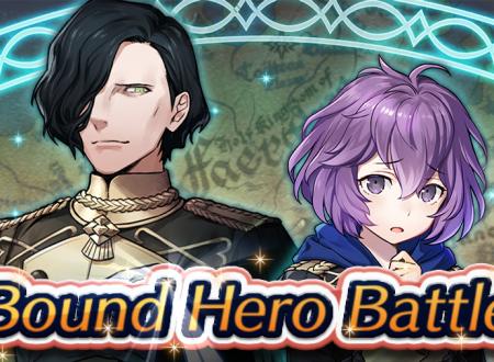Fire Emblem Heroes: ora disponibile la nuova Battaglia legame, Hubert e Bernadetta