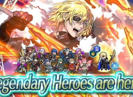 Fire Emblem Heroes: ora disponibile l'evento evocazione, Eroi Leggendari: Dimitri, il re salvatore