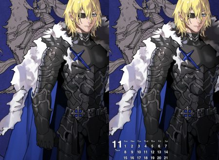 Fire Emblem Heroes: ora disponibile lo sfondo calendario di Dimitri, il re salvatore, del mese di novembre