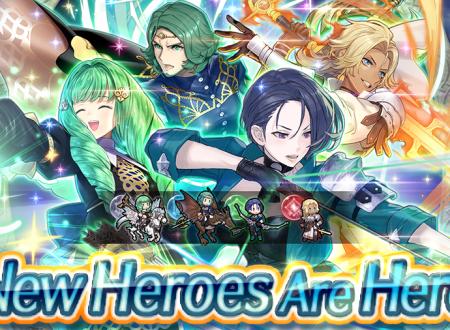 Fire Emblem Heroes: ora disponibili i nuovi eroi speciali: Servi della Dea