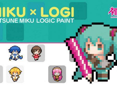 Hatsune Miku Logic Paint: il titolo annunciato per l'arrivo prossimamente su Nintendo Switch