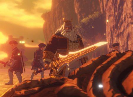 Hyrule Warriors: L'era della calamità, pubblicati nuovi artwork e screenshots dedicati al Re di Hyrule, Master Kohga e Castonne