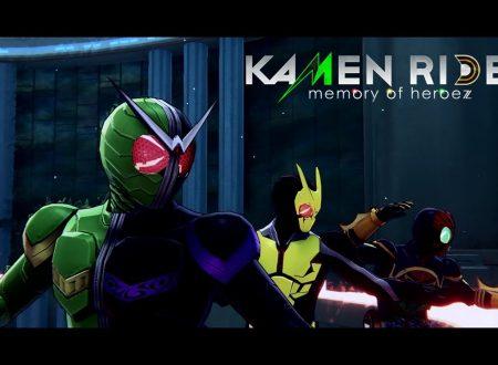 Kamen Rider: Memory of Heroez, pubblicato due nuovi video promozionali