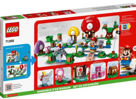 LEGO Super Mario: svelato l'arrivo del Pack di Espansione: La caccia al tesoro di Toad
