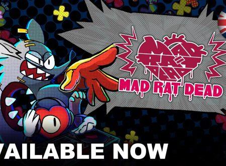 Mad Rat Dead: pubblicato il trailer di lancio del titolo su Nintendo Switch