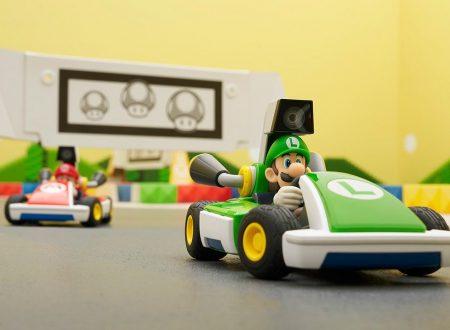 Mario Kart Live: Home Circuit, il titolo aggiornato alla versione 1.0.1 sui Nintendo Switch europei