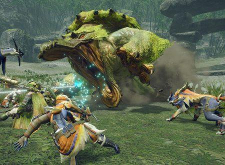 Monster Hunter Rise: pubblicate nuove informazioni e screenshots dedicate al titolo