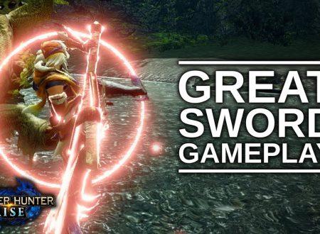 Monster Hunter Rise: pubblicato un nuovo video gameplay dedicato alla Great Sword