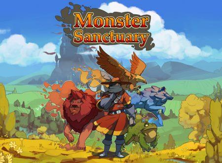 Monster Sanctuary: il titolo in arrivo l'8 dicembre sull'eShop di Nintendo Switch