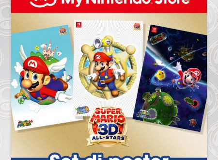 My Nintendo: ora disponibile un Set di poster di Super Mario 3D All Stars