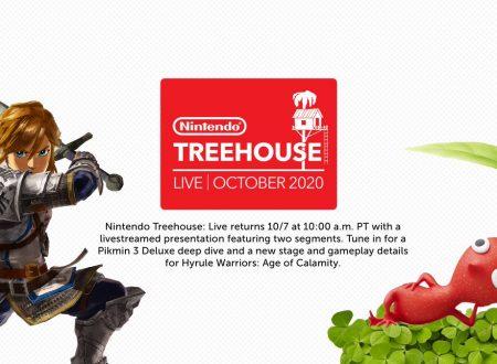 Nintendo Treehouse: svelato un nuovo livestream dedicato ad Hyrule Warriors: Age of Calamity e Pikmin 3 Deluxe