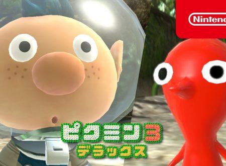 Pikmin 3 Deluxe: pubblicati altri quattro video commercial giapponesi sul titolo