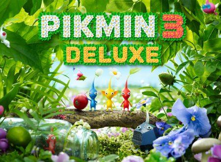 Pikmin 3 Deluxe: pubblicato il trailer di lancio del titolo su Nintendo Switch