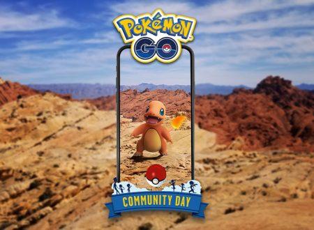 Pokèmon GO: Charmander sarà il protagonista del Community Day di ottobre