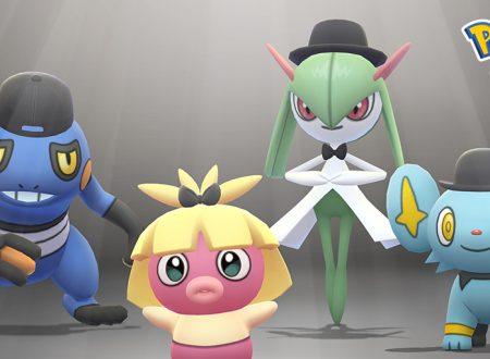 Pokèmon GO: Shinx e Kirlia con indosso un cappello a bombetta ed altri disponibili fino all'8 ottobre