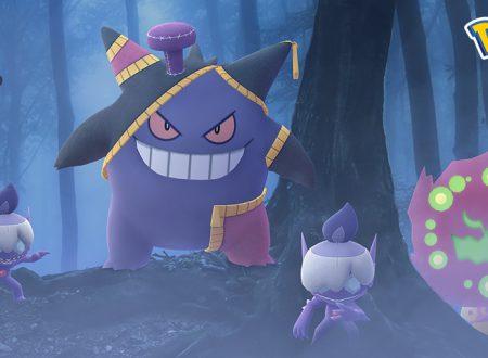 Pokèmon GO: Yamask di Galar, Spiritomb e Gengar in arrivo nell'evento di Halloween