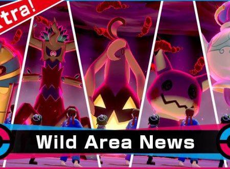 Pokèmon Spada e Scudo: svelato l'arrivo del Raid Dynamax evento con Pokèmon spettro per Halloween
