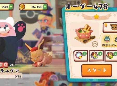 Pokémon Cafe Mix: ora disponibili i nuovi stage regolari con Bewear