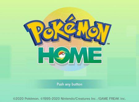 Pokémon Home: svelato l'arrivo di una nuova manutenzione il prossimo 23 ottobre