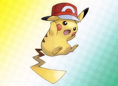 Pokémon Spada e Scudo: svelato il codice seriale di Pikachu con il cappellino di Ash della regione di Kalos