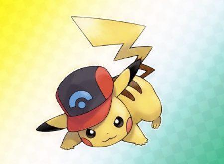 Pokémon Spada e Scudo: svelato il codice seriale di Pikachu con il cappellino di Ash della regione di Sinnoh
