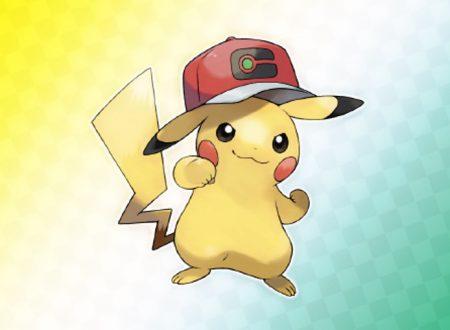 Pokémon Spada e Scudo: svelato il codice seriale di Pikachu con il cappellino di Ash di Pokémon Journeys