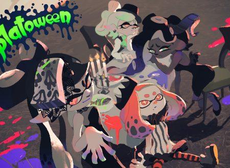 Splatoon 2: pubblicato l'artwork ufficiale dedicato allo Splatoween, Scherzetto o Dolcetto?