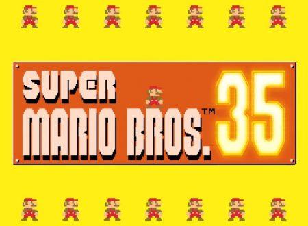 Super Mario Bros. 35: il titolo aggiornato alla versione 1.0.1 sui Nintendo Switch europei