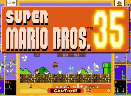 Super Mario Bros. 35: il titolo aggiornato alla versione 1.0.2 sui Nintendo Switch europei