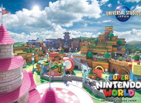 Super Nintendo World: Nintendo prevede l'apertura del parco divertimenti per la primavera 2021