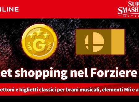 Super Smash Bros. Ultimate: ora disponibile il set shopping nel Forziere 2 per gli abbonati al Nintendo Switch Online