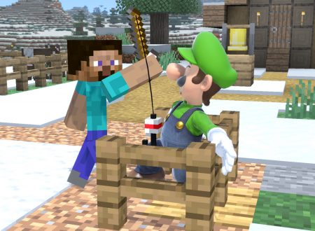 Super Smash Bros. Ultimate: pubblicati nuovi screenshots dedicati al DLC di Minecraft
