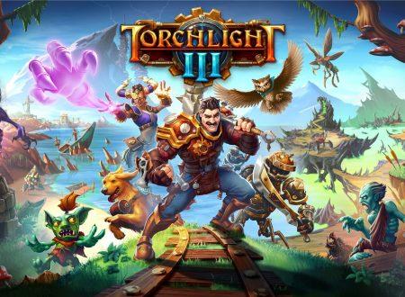 Torchlight III: il titolo in arrivo il 22 ottobre sull'eShop di Nintendo Switch