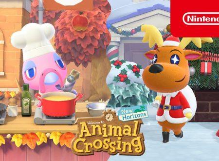 Animal Crossing: New Horizons, annunciato l'arrivo dell'aggiornamento invernale di novembre e dicembre