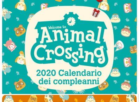 Animal Crossing: New Horizons, il calendario dei compleanni degli animali nel mese di novembre
