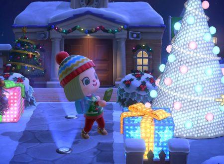 Animal Crossing: New Horizons, il titolo aggiornato alla versione 1.6.0 sui Nintendo Switch europei