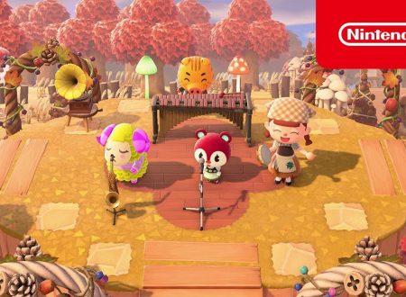 Animal Crossing: New Horizons, pubblicato un nuovo video promo, L'autunno è arrivato!