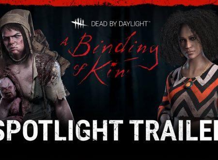 Dead By Daylight: pubblicato un nuovo Spotlight trailer sul nuovo DLC, A Binding of Kin