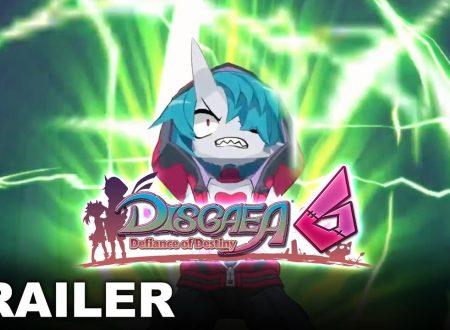 Disgaea 6: Defiance of Destiny, pubblicato un nuovo trailer dedicato alla trama