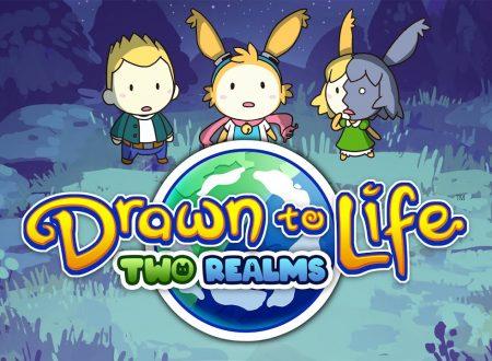 Drawn To Life: Two Realms, il titolo ufficialmente annunciato per l'arrivo il 7 dicembre su Nintendo Switch