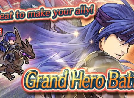 Fire Emblem Heroes: ora disponibile la grande battaglia: Galle, Cavaliere azzurro