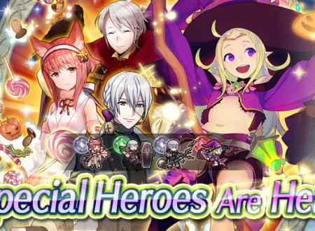 Fire Emblem Heroes: ora disponibili gli eroi speciali, atto secondo: Scherzetto o resa
