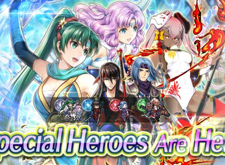 Fire Emblem Heroes: ora disponibili i nuovi eroi speciali: Nel Presente