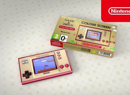 Game & Watch: Super Mario Bros, pubblicato il trailer di lancio della console