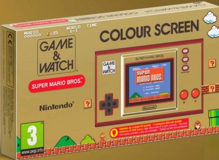 Game & Watch: Super Mario Bros, pubblicato un video unboxing della console
