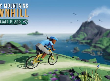 Lonely Mountains: Downhill, uno sguardo in video al DLC di Eldfjall Island sui Nintendo Switch europei