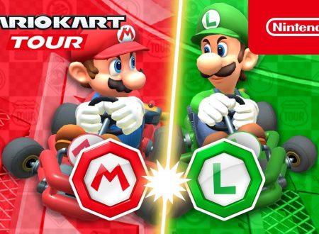 Mario Kart Tour: pubblicato il trailer del Tour Mario vs. Luigi, disponibile ora nel titolo mobile