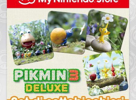My Nintendo: ora disponibile Set di sottobicchieri dedicati a Pikmin 3 Deluxe