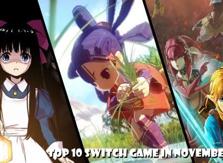 Nintendo Switch: la nostra TOP 10 dei titoli in uscita a novembre 2020
